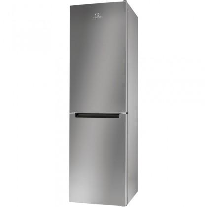 Kombinovaná lednice s mrazákem dole indesit lr9 s2q f x b, a++
