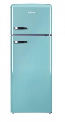 Kombinovaná lednice s mrazákem nahoře amica vd 1442 al