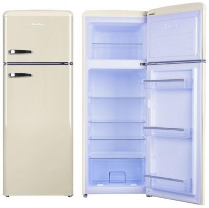 Kombinovaná lednice s mrazákem nahoře amica vd 1442 am