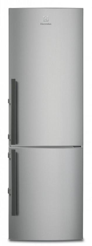 Kombinované lednice Kombinovaná lednice s mrazákem dole Electrolux EN3853MOX, A++