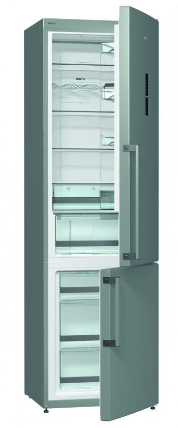 Kombinované lednice Kombinovaná lednice s mrazákem dole Gorenje NRK 6203 TX, A+++