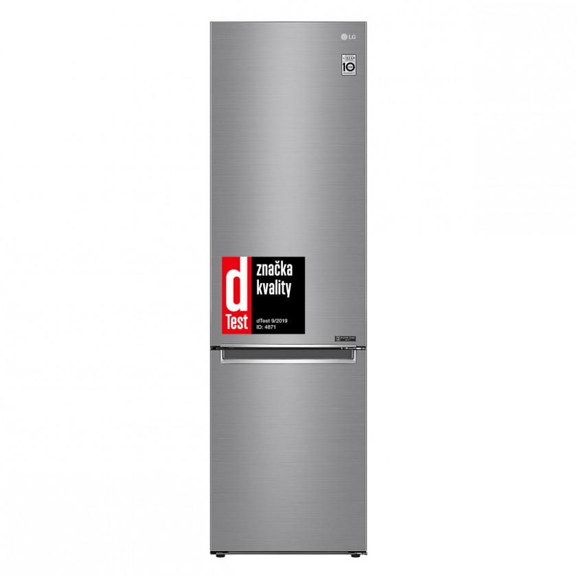 Kombinované lednice Kombinovaná lednice s mrazákem dole LG GBB62PZGFN, A+++