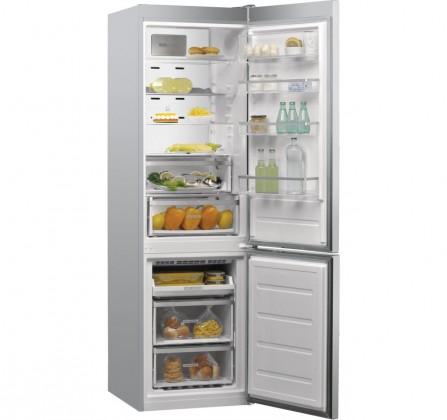 Kombinované lednice Kombinovaná lednice s mrazákem dole Whirlpool W9 931D IX A+++