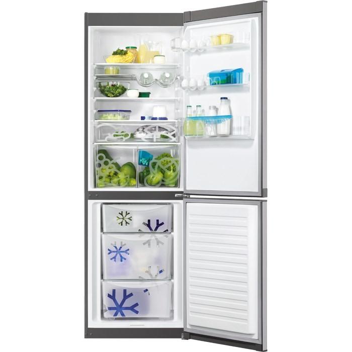 Kombinované lednice Kombinovaná lednice s mrazákem dole Zanussi ZRB 36104XA, A++