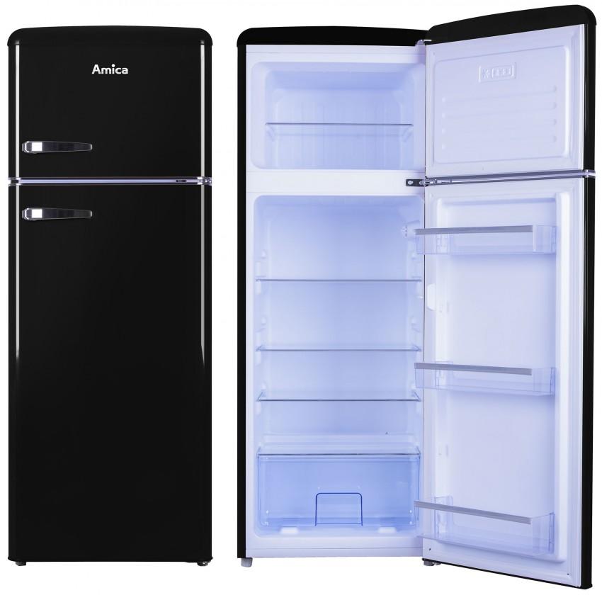 Kombinované lednice Kombinovaná lednice s mrazákem nahoře Amica VD 1442 AB