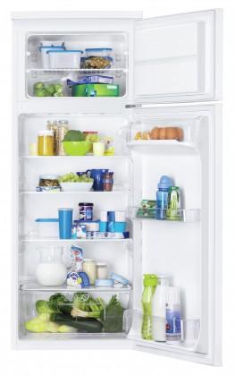 Kombinované lednice Kombinovaná lednice s mrazákem nahoře Zanussi ZRT23100WA
