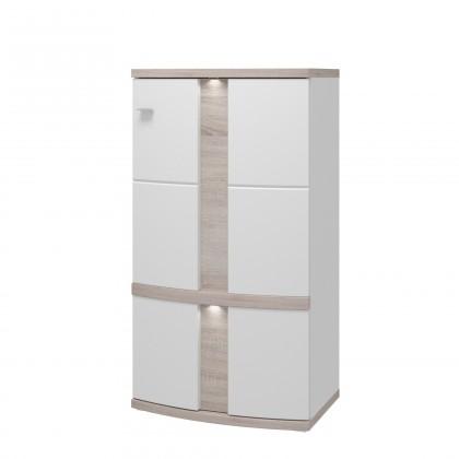 Komoda Adena - komoda, 1x dveře pravé