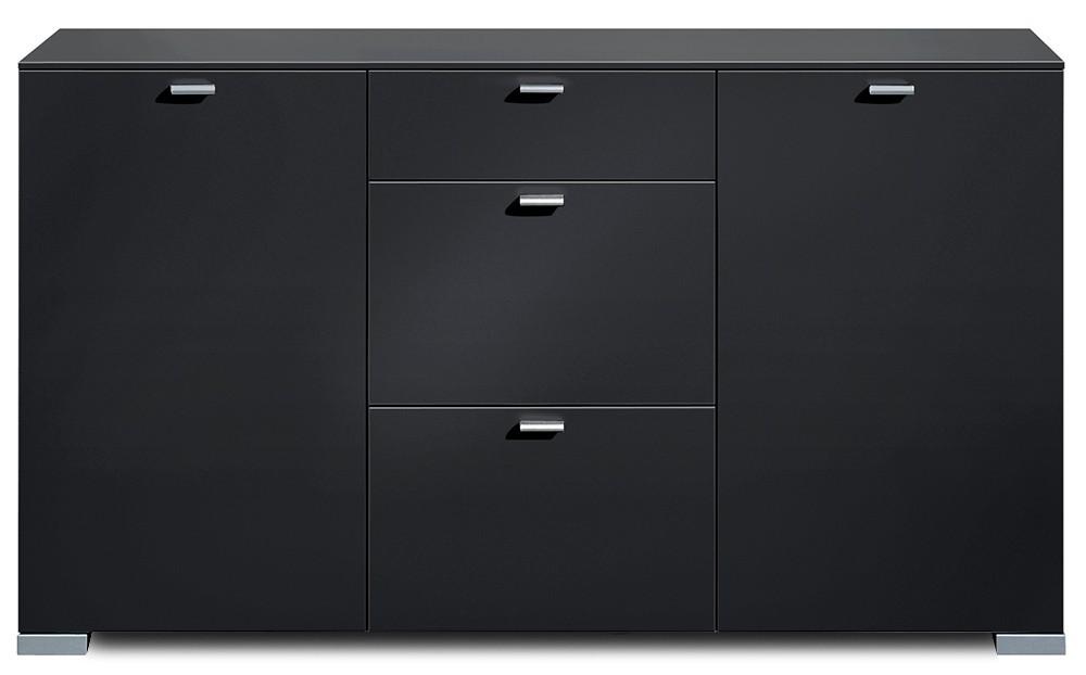 Komoda Gallery 58 - Komoda, M471350 (černá)