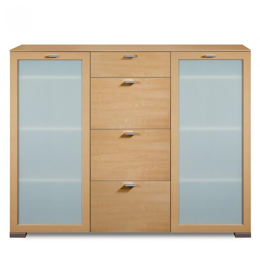 Komoda Gallery16 - Komoda, 150 cm (buk)
