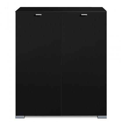 Komoda Gallery5 - Komoda, 100 cm (černá)