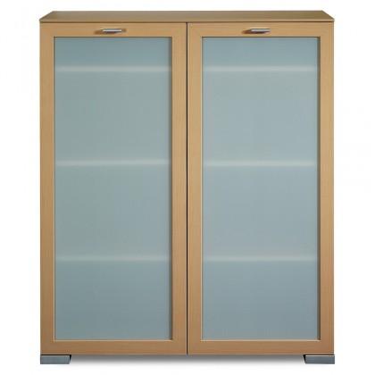 Komoda Gallery6 - Komoda, 100 cm (buk)