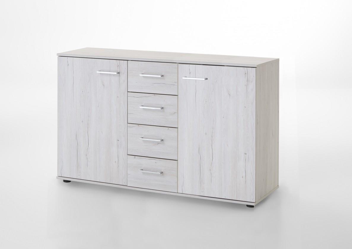 Komoda Kampen 848704(bílý dub)