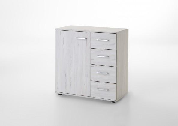 Komoda Kampen 848710(bílý dub)