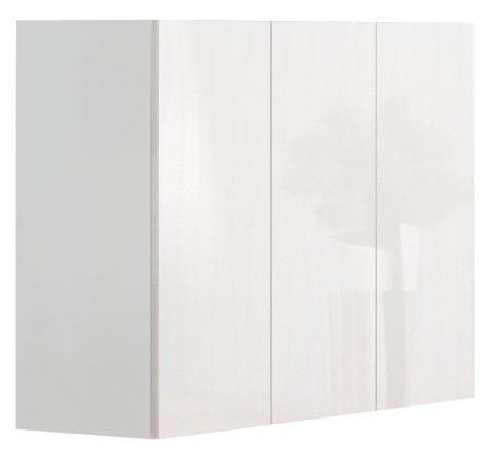 Komoda Livo - Komoda 120 (bílá mat/bílá lesk)