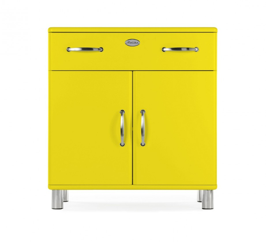 Komoda Malibu - komoda, 2x dveře, 1x zásuvka