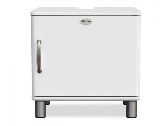Komoda Malibu - Skříňka (bílá, 1x dveře)