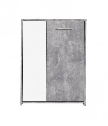 Komoda Paco - Komoda PCOK221 (C251 - beton korpus, fronty)
