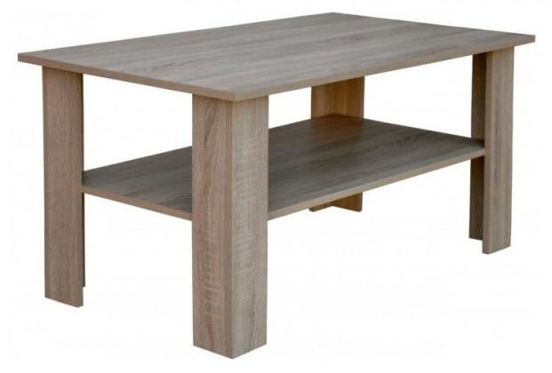 Konfereční stolek - dřevěný Alvaro II - Konferenční stolek AS110 (dub sonoma)