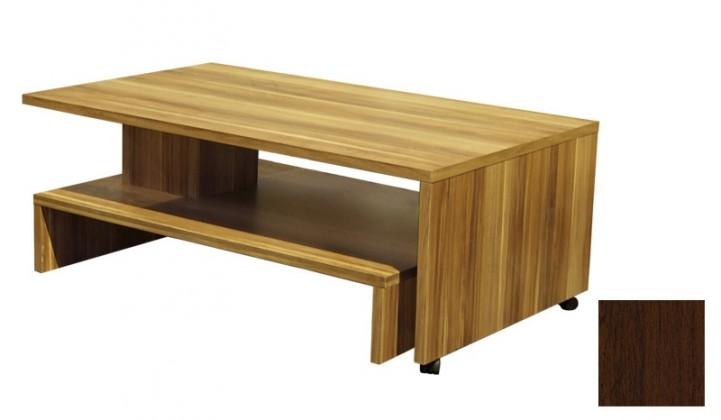 Konfereční stolek - dřevěný Bakchus (Ořech tmavý)