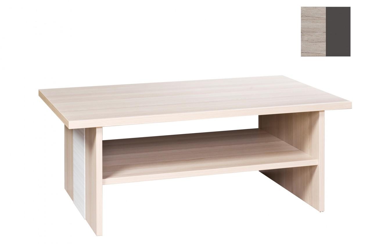 Konfereční stolek - dřevěný Bori(san remo sand/grafit)
