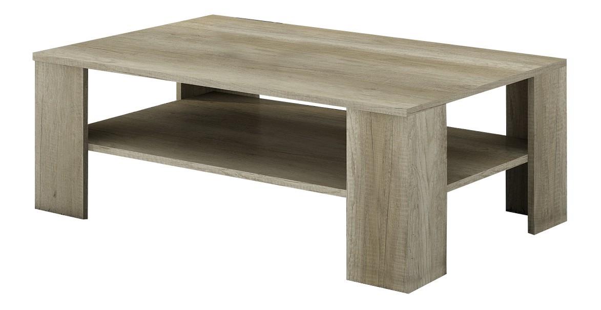 Konfereční stolek - dřevěný Campari - Konferenční stolek (country šedá)