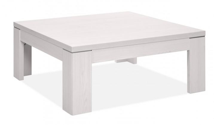 Konfereční stolek - dřevěný Cool - Konferenční stolek (modřín bílý)