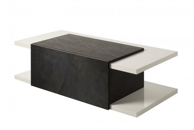 Konfereční stolek - dřevěný Cooper - Konferenční stolek (bílá)