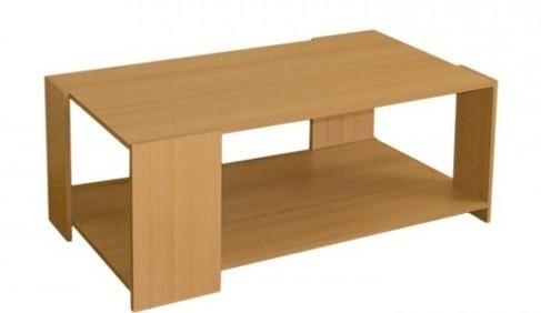 Konfereční stolek - dřevěný Cube II (Buk 045)