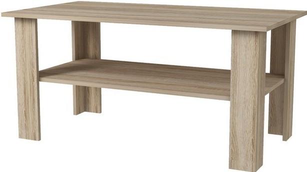 Konfereční stolek - dřevěný Dino - Konferenční stolek (sonoma)