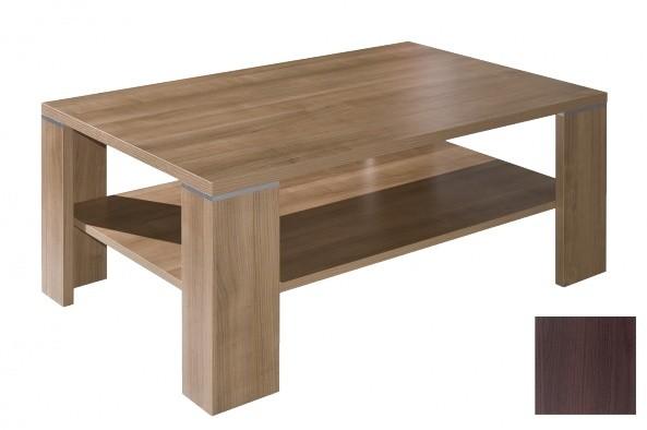 Konfereční stolek - dřevěný Faleg (Dub tmavý)