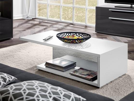 Konfereční stolek - dřevěný Gamble - Konferenční stolek 570763 (bílá)