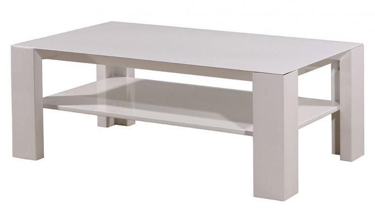 Konfereční stolek - dřevěný GW-Fino - Konferenční stolek (bílá)