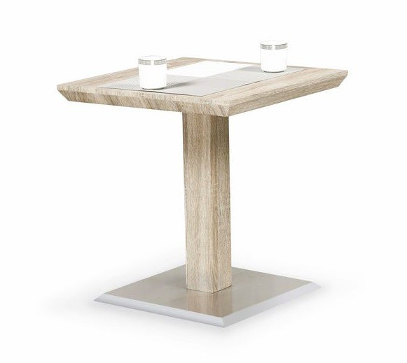 Konfereční stolek - dřevěný Havana(dub sonoma)