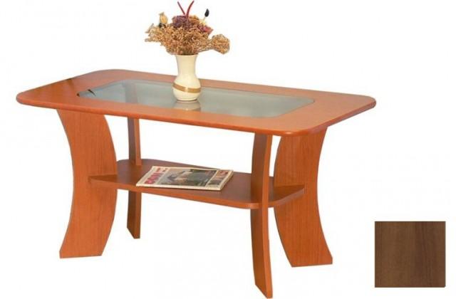 Konfereční stolek - dřevěný K 48 (Ořech)