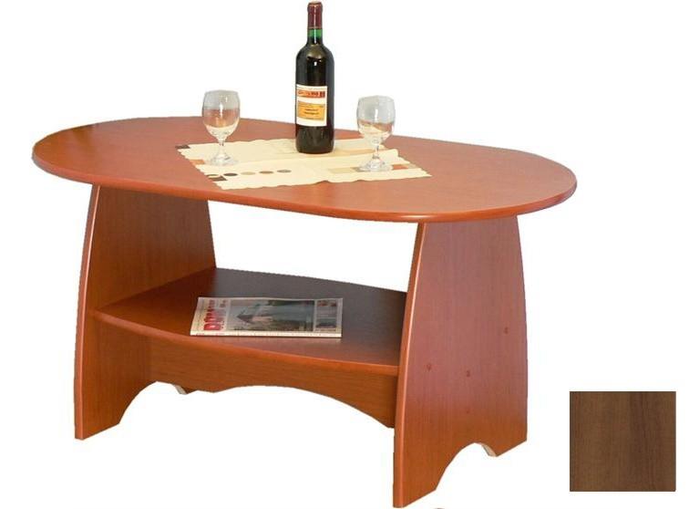Konfereční stolek - dřevěný K 61 (Ořech)