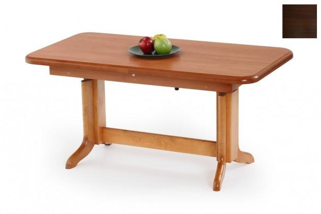 Konfereční stolek - dřevěný Karol(ořech tmavý)