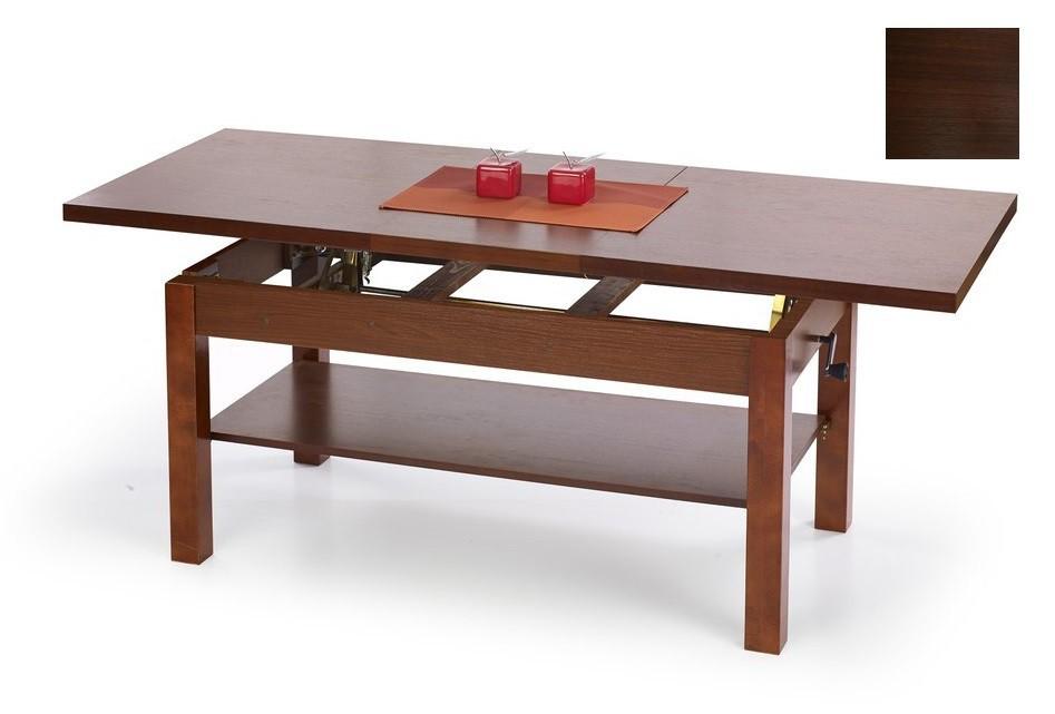 Konfereční stolek - dřevěný Klemens(ořech tmavý)