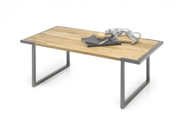 Konfereční stolek - dřevěný Konferenční stolek Akamar (hnědá)