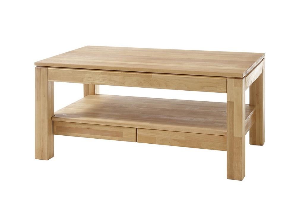 Konfereční stolek - dřevěný Konferenční stolek Alkor - 115x54x70 (buk, hnědá)