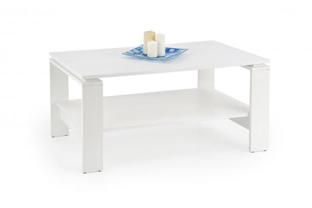 Konfereční stolek - dřevěný Konferenční stolek Andrea (bílá)