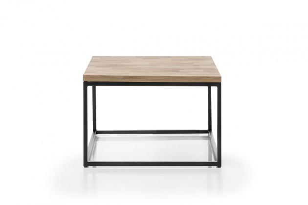 Konfereční stolek - dřevěný Konferenční stolek Devon (čtverec, hnědá)