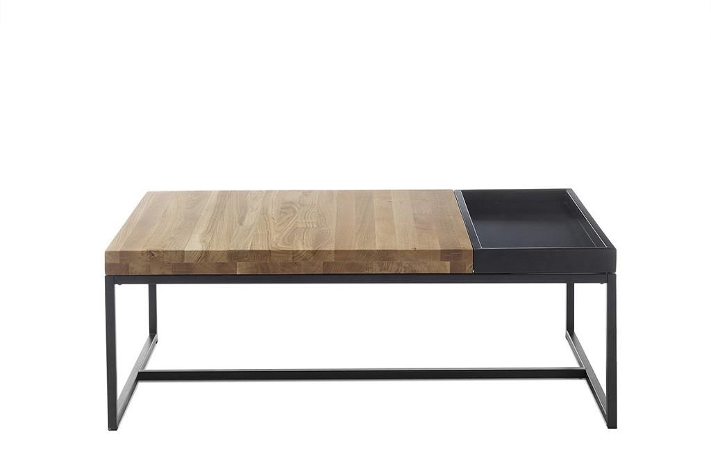 Konfereční stolek - dřevěný Konferenční stolek Dorset (hnědá)