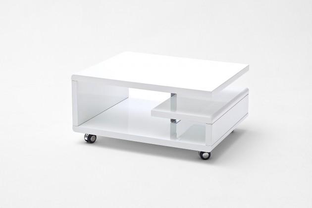 Konfereční stolek - dřevěný Konferenční stolek Enora (bílá)