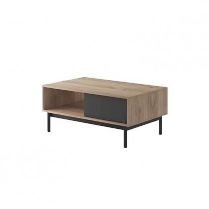 Konfereční stolek - dřevěný Konferenční stolek Fjara (grafit)