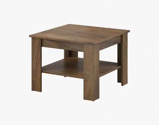 Konfereční stolek - dřevěný Konferenční stolek Gete - čtverec (dub burgundský)