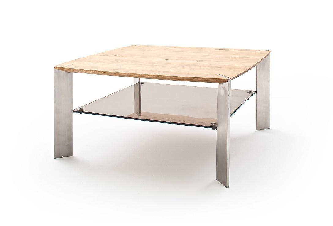 Konfereční stolek - dřevěný Konferenční stolek Harla - 80x41x80 (dub, hnědá)