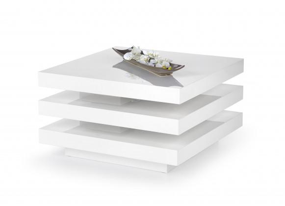 Konfereční stolek - dřevěný Konferenční stolek Ingrid (bílá)
