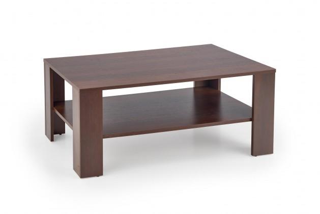 Konfereční stolek - dřevěný Konferenční stolek Kwadro (černý ořech)