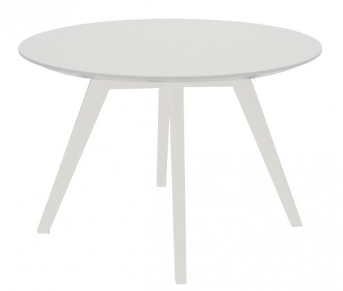 Konfereční stolek - dřevěný Konferenční stolek Lola Bess - bílá, bílá (9317-001+9366-001)