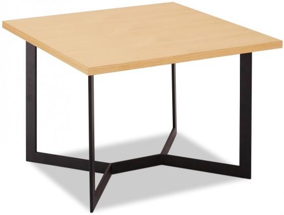 Konfereční stolek - dřevěný Konferenční stolek Lure (dub, černá)
